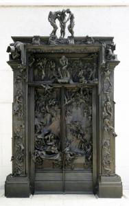 La Porte de l'Enfer, Auguste Rodin. 1880-vers 1890